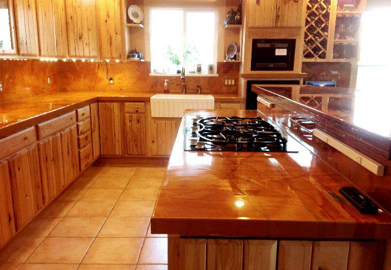 DIY Countertops, Backlighting, Epoxy, Renovations